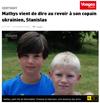 Lien vers l'article de presse de Vosges Matin du 1er août 2017 : Mathys vient de dire au revoir à son copain ukrainien, Stanislas
