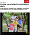 Lien vers l'article de presse de l'Est Républicain du 08 août 2017 : Kristina, une enfant de Tchernobyl bientôt adulte