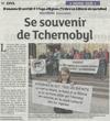 Lien vers l'article de presse des DNA du 23 avril 2017 : Se souvenir de Tchernobyl