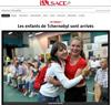 Lien vers le diaporama de l'Alsace du 07 juillet 2018 : Les enfants de Tchernobyl sont arrivés