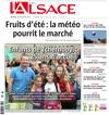 Lien vers la une de l'Alsace du 08 juillet 2018 : Enfants de Tchernobyl - 25 ans d'accueil