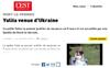 Lien vers l'article de presse de l'Est Républicain du 16 juillet 2018 : Yuliia venue d'Ukraine