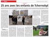 Lien vers l'article de presse de l'Alsace du 1er juin 2018 : 25 ans avec les enfants de Tchernobyl