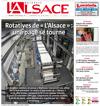 Lien vers la une de presse de l'Alsace du 24 juin 2018 : Auprès des Enfants de Tchernobyl