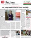 Lien vers l'article de presse de l'Alsace du 24 juin 2018 : 1/5 - Au pays des enfants contaminés