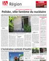 Lien vers l'article de presse de l'Alsace du 1er juillet  2018 : Poliske, ville fantôme du nucléaire
