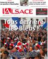 Lien vers la Une de l'Alsace du 15 juillet 2018 : Ici, il n'y a pas un seul enfant en bonne santé