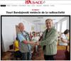 Lien vers le reportage photo de l'Alsace du 15 juillet 2018 : Youri Bandajevski médecin de la radioactivité