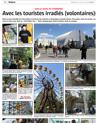 Lien vers la page photo de l'Alsace du 22 juillet 2018 : Avec les touristes irradiés (volontaires)