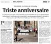 Lien vers l'article de presse des DNA du 23 avril 2018 : Triste anniversaire