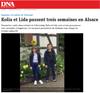 Lien vers l'article de presse des DNA du 10 août 2019 : Kolia et Lida passent 3 semaines en Alsace