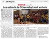 Lien vers l'article de presse de l'Alsace du 12 juillet 2019 : Les enfants de Tchernobyl sont arrivés