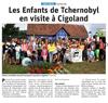 Lien vers l'article de presse des DNA du 16 juillet 2019 : Les enfants de Tchernobyl en visite à CIGOLAND