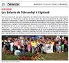 Lien vers l'article de presse de l'Alsace du 17 juillet 2019 : Les enfants de Tchernobyl à CIGOLAND
