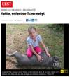 Lien vers l'article de presse de l'EST REPUBLICAIN du 24 juillet 2019 : Yuliia, enfant de Tchernobyl