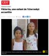 Lien vers l'article de presse de l'EST REPUBLICAIN du 26 juillet 2019 : Viktoriia, une enfant de Tchernobyl accueillie