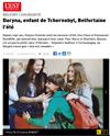 Lien vers l'article de presse de l'EST REPUBLICAIN du 26 juillet 2019 : Daryna, enfant de Tchernobyl, Belfortaine l'été
