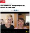 Lien vers l'article de presse de l'Alsace du 27 juillet 2019 : Mariana SERDA, interprète pour les Enfants de Tchernobyl