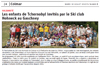Lien vers l'article de presse de l'Alsace du 30 juillet 2019 : Les enfants de Tchernobyl invités par le Ski Club Hohneck au Gaschney