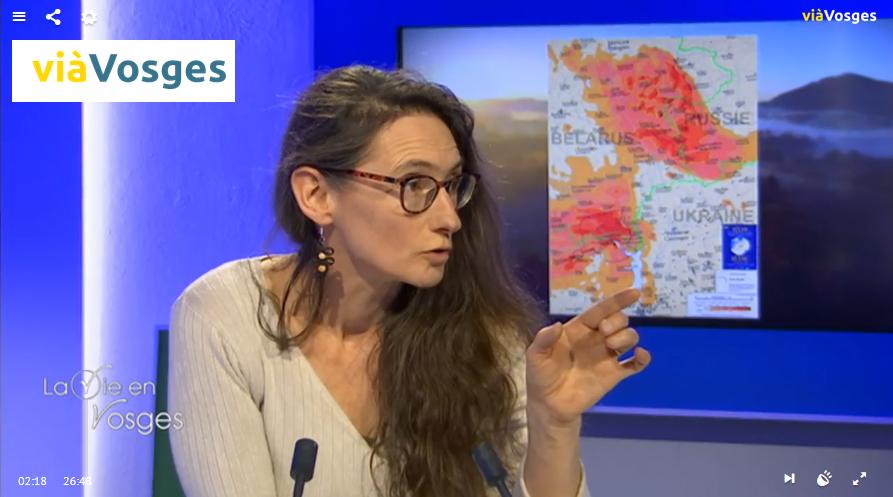 Lien vers l'émission Territoire et Patrimoine sur viàVosges  28/01/2020